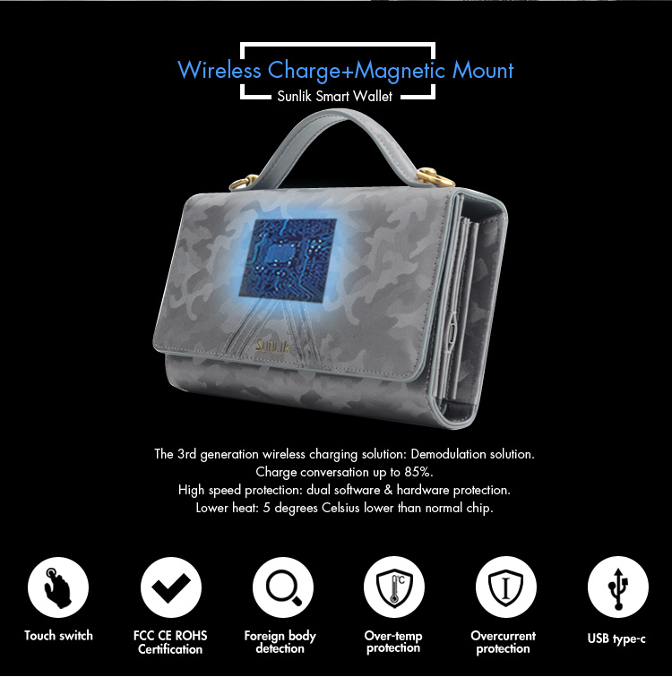 Wireless Charging bag